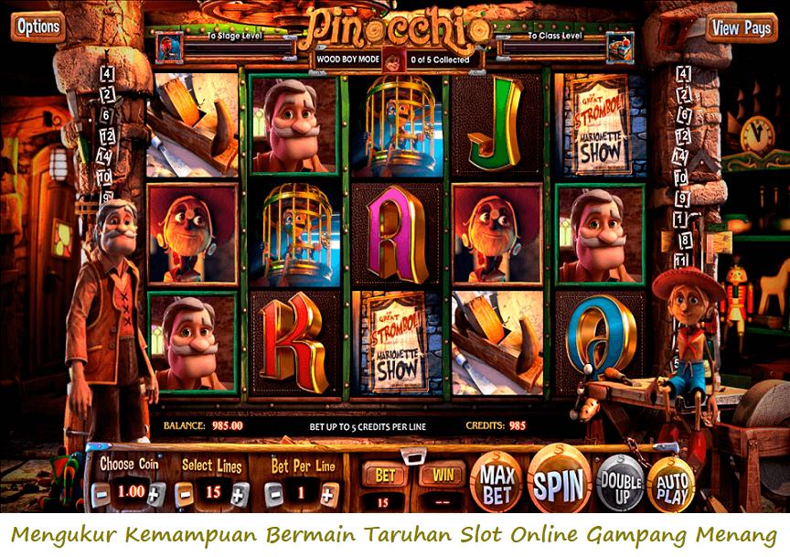 Mengukur Kemampuan Bermain Taruhan Slot Online Gampang Menang