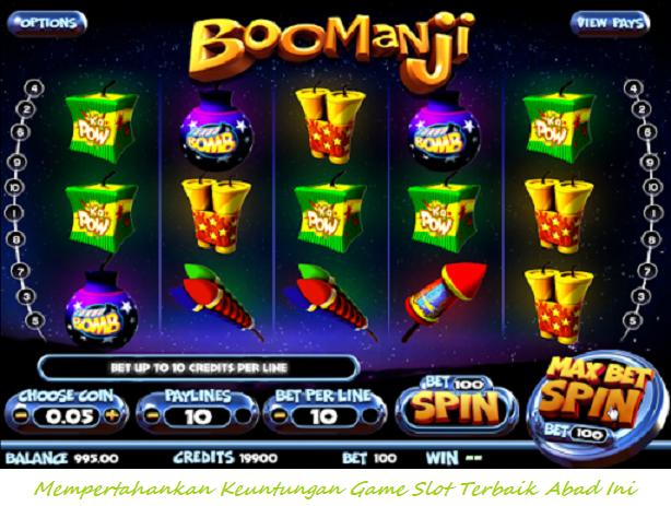 Mempertahankan Keuntungan Game Slot Terbaik Abad Ini